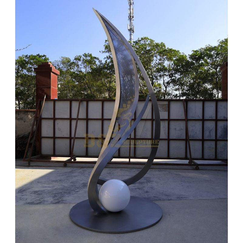 Customize Famous Large Stainless Steel Outdoor Sculpture
