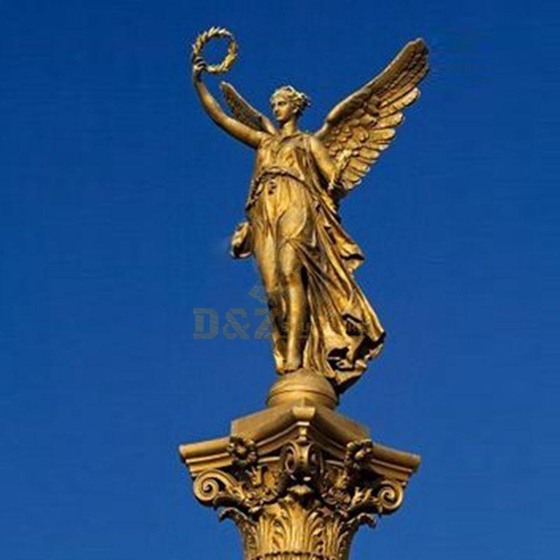 Garden Statue Bronze Angel Sculpture