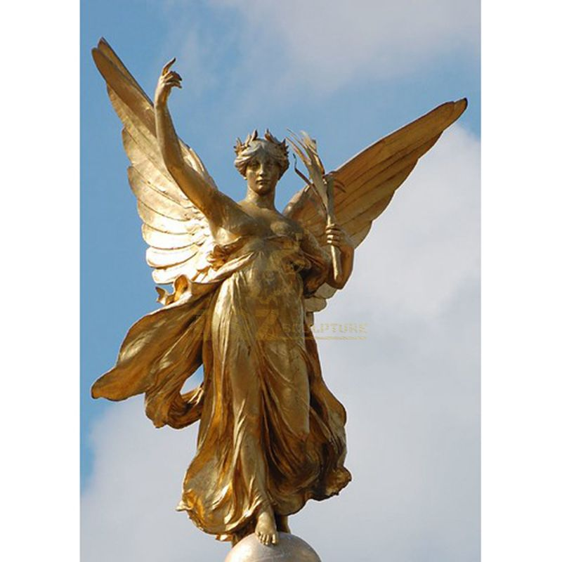 Bronze Angel Statue For Garden Decoration
