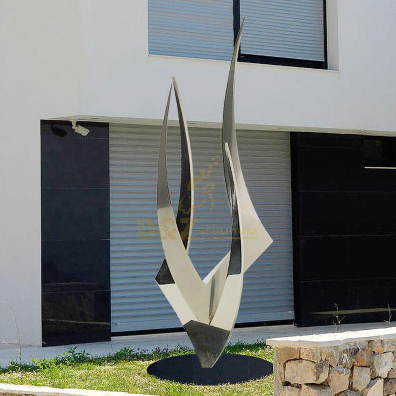 New Design Modern Abstract Metal Stainless Steel Sculpture