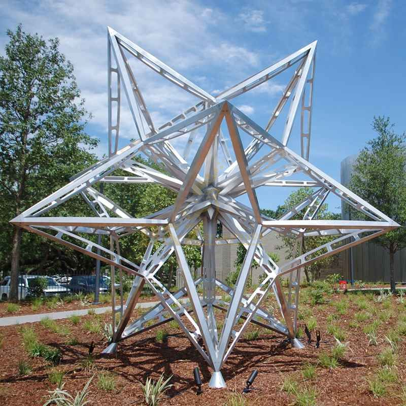 Large Stainless Steel Wire Sculpture
