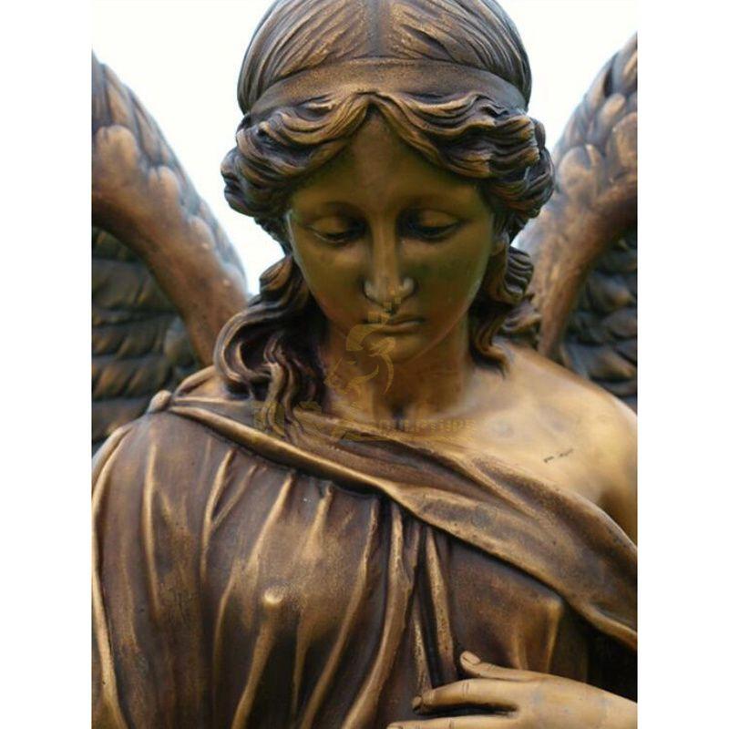 Outdoor Garden Decorative Antique Bronze Angel Statue