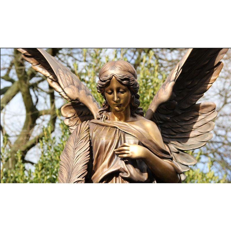 Hot Sale Life Size Bronze Angel Statue Sculpture