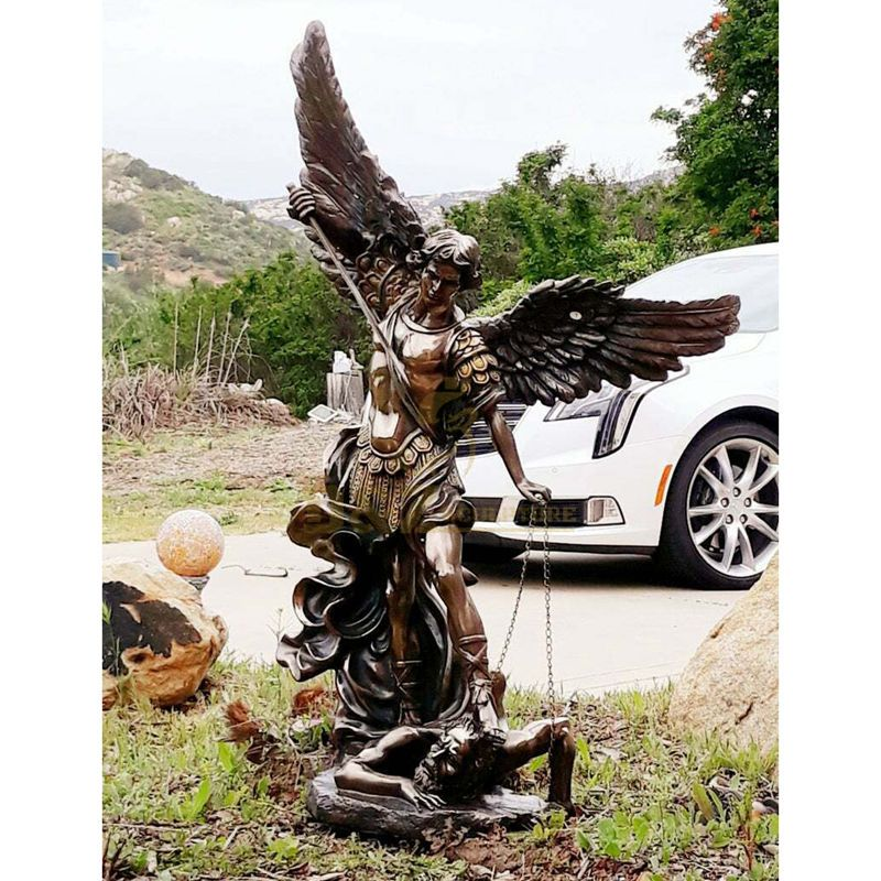 Large Outdoor Garden Bronze Water Fountain With Lady Angel Statues