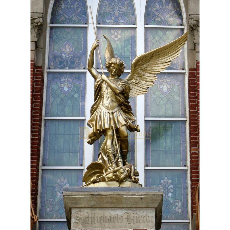 Garden Angel Statue Large Bronze Fountain