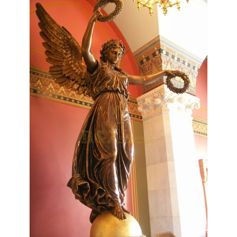 Custom Made Metal Angel Sculpture With Traditional Technology