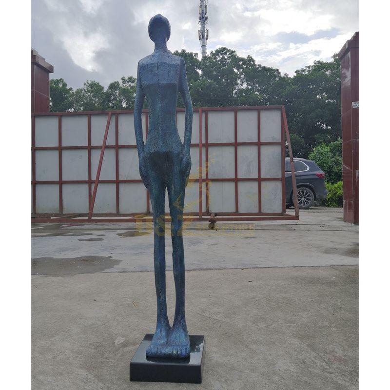 Famous Giacometti Bronze Sculpture Walking Man Bronze Statue