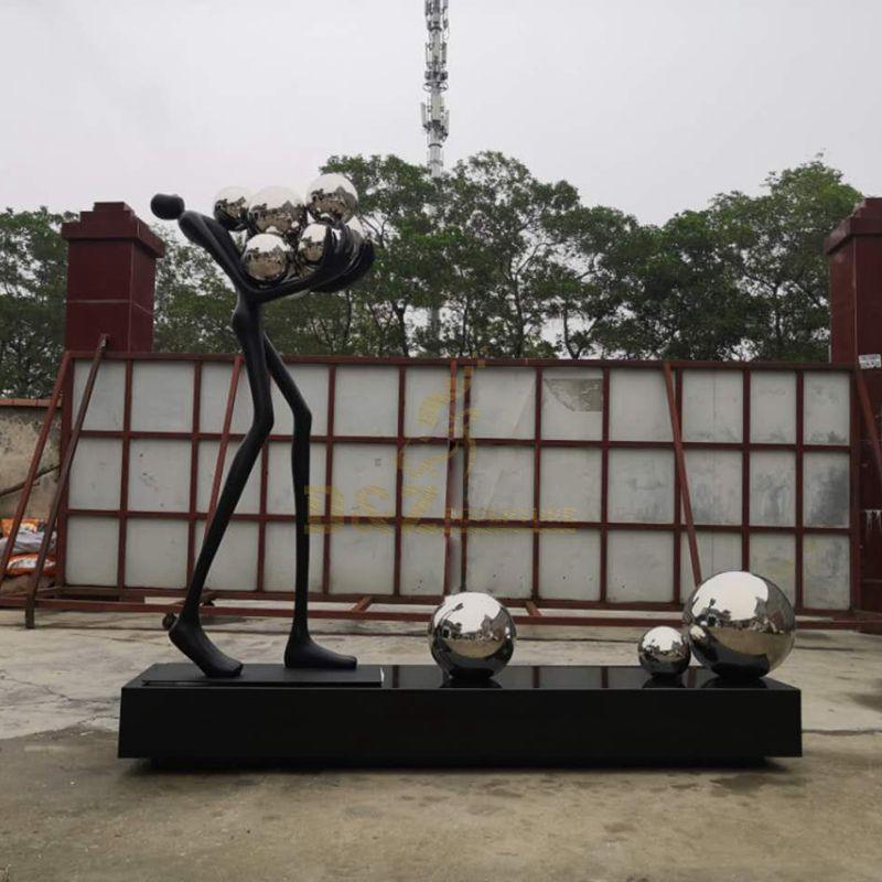 Custom Size Bronze Sculpture Walking Giacometti Man Statue