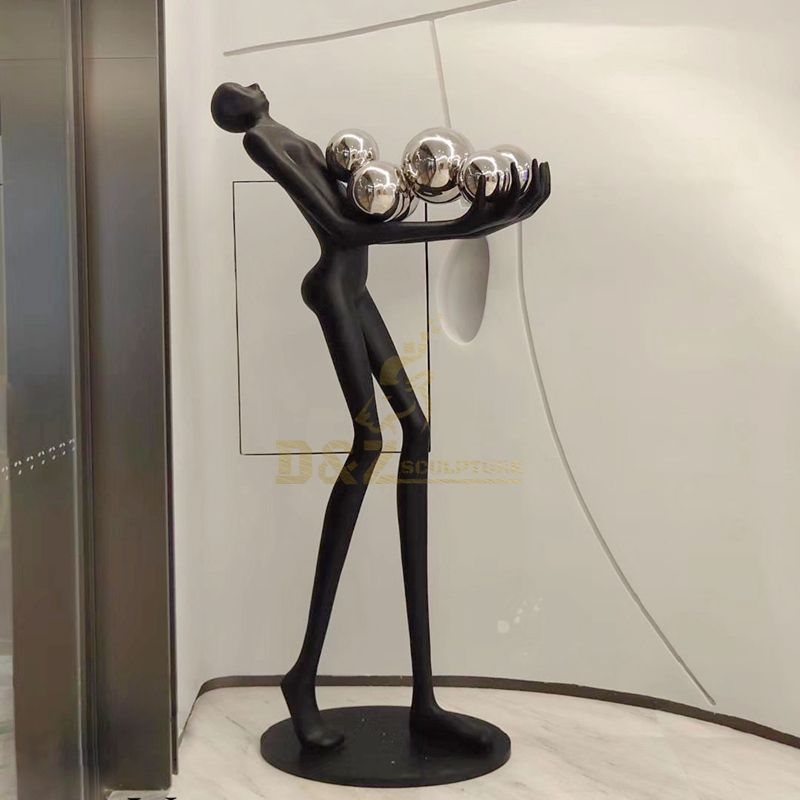 Giacometti Walking Man Abstract Bronze Sculpture Statue