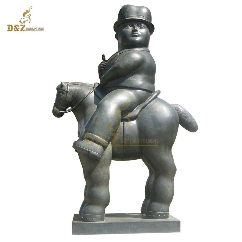 Famous Sculpture Metal Horse Fernando Botero Sculptures
