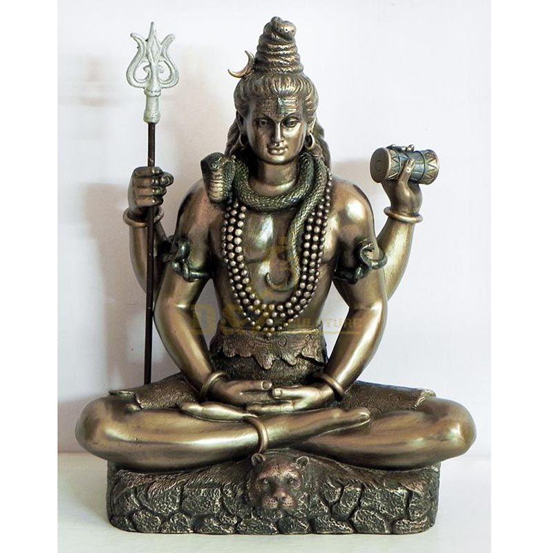 Large Outdoor Shiva Bronze Statues Sculpture