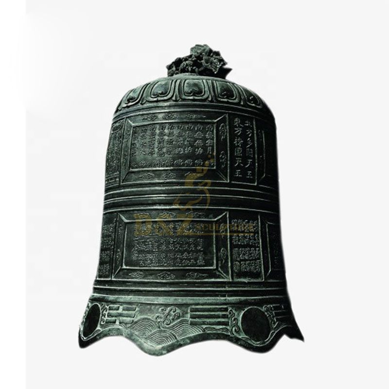 Decorative Chinese Style Bronze Church Bell