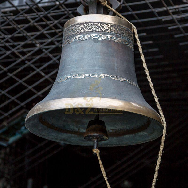 Factory Price School Decoration Crisp Sound Bronze Church Bell