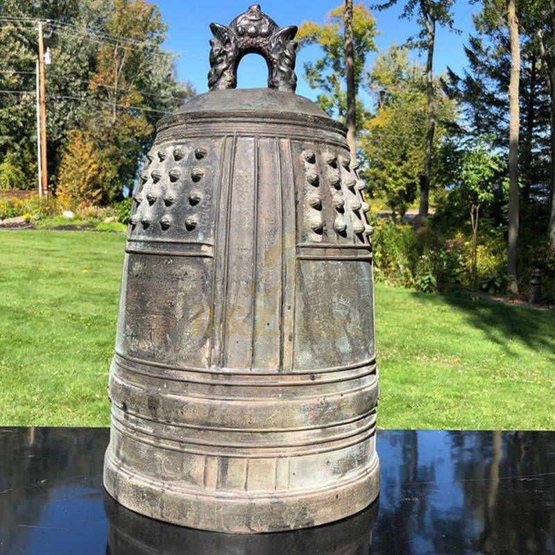 Custom-made Antique Metal Craft Large Bronze Church Bell