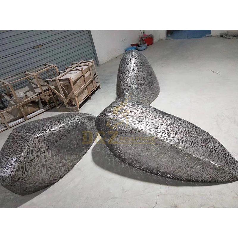 Stainless Steel Hollow Metal Art Sculpture