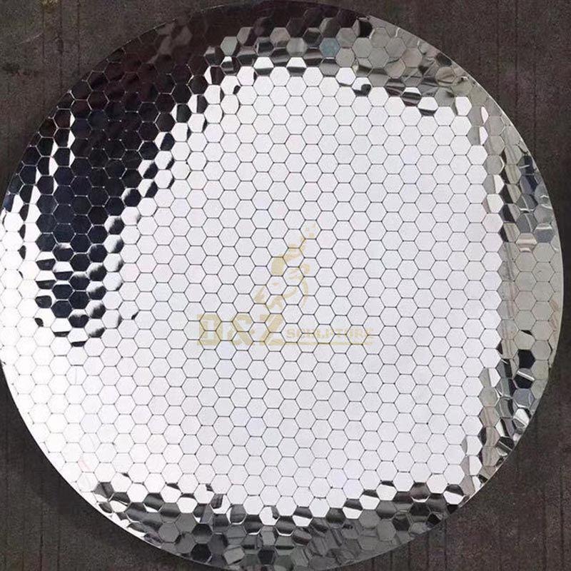 Stainless Steel Wall Art Disc Indoor Sculpture
