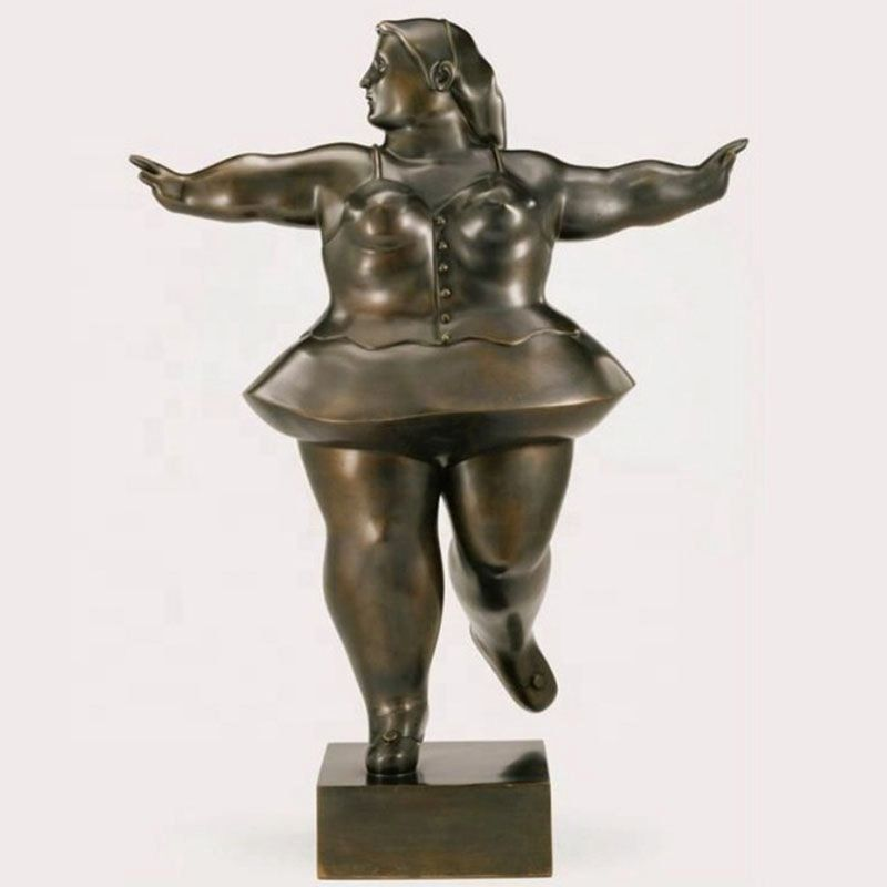 Casting Bronze Yoga Nude Female Sculpture