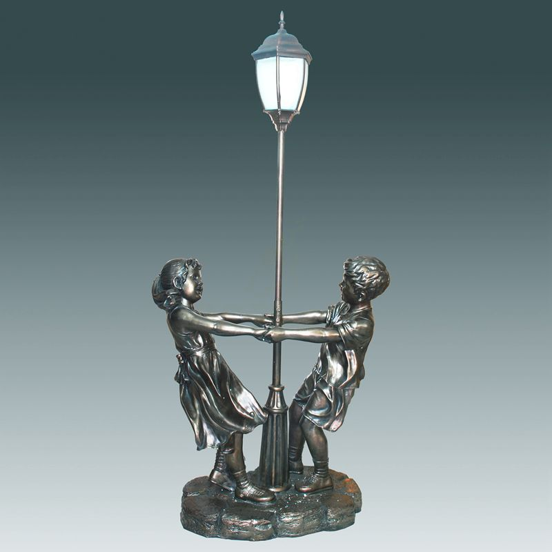 Garden Decoration Casting Floor Lamp Sculpture