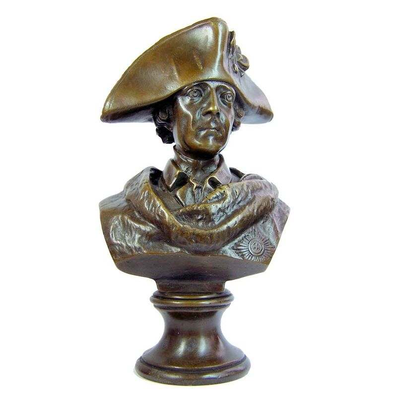 Direct Manufacturer antique bronze bust sculpture