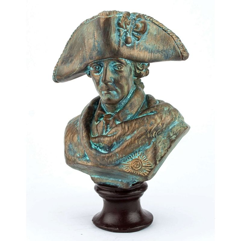 Popular Style Decoration Bronze Bust Napoleon Sculpture