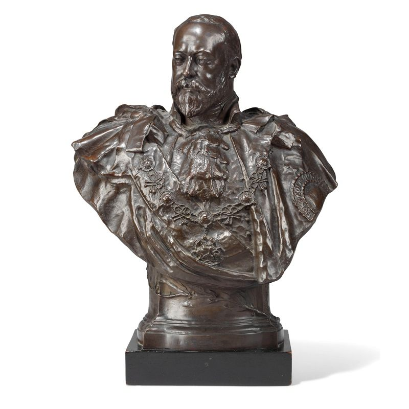 Bronze Bust Statue for Home Decoration