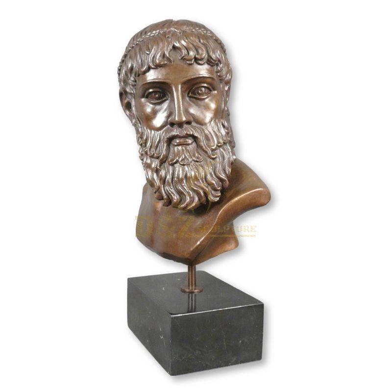 Modern Statues Table Home Decor Roman Man Statue