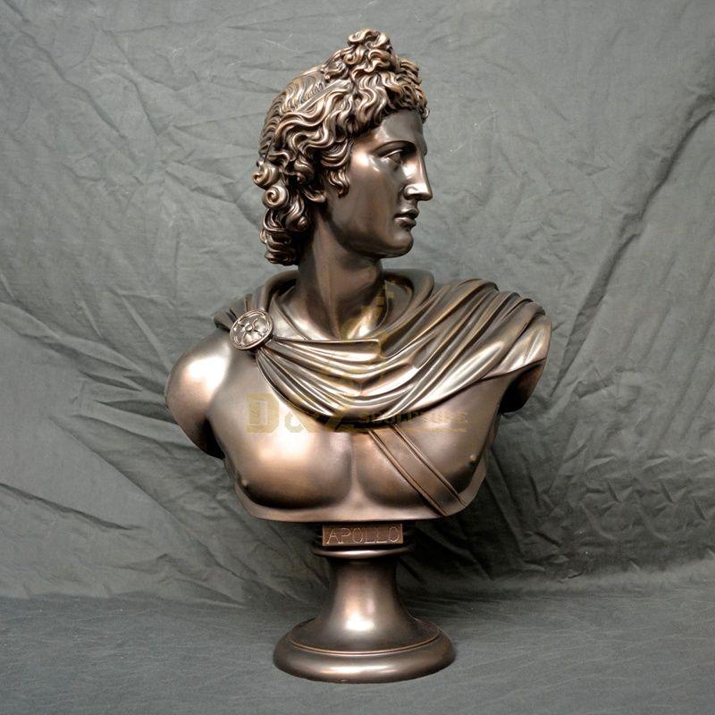 Famous Bust Sculpture Brass Bronze Bust David Sculpture