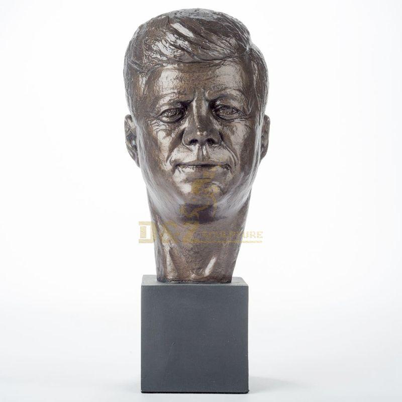 Custom Man Head Bronze Bust Statue Sculpture