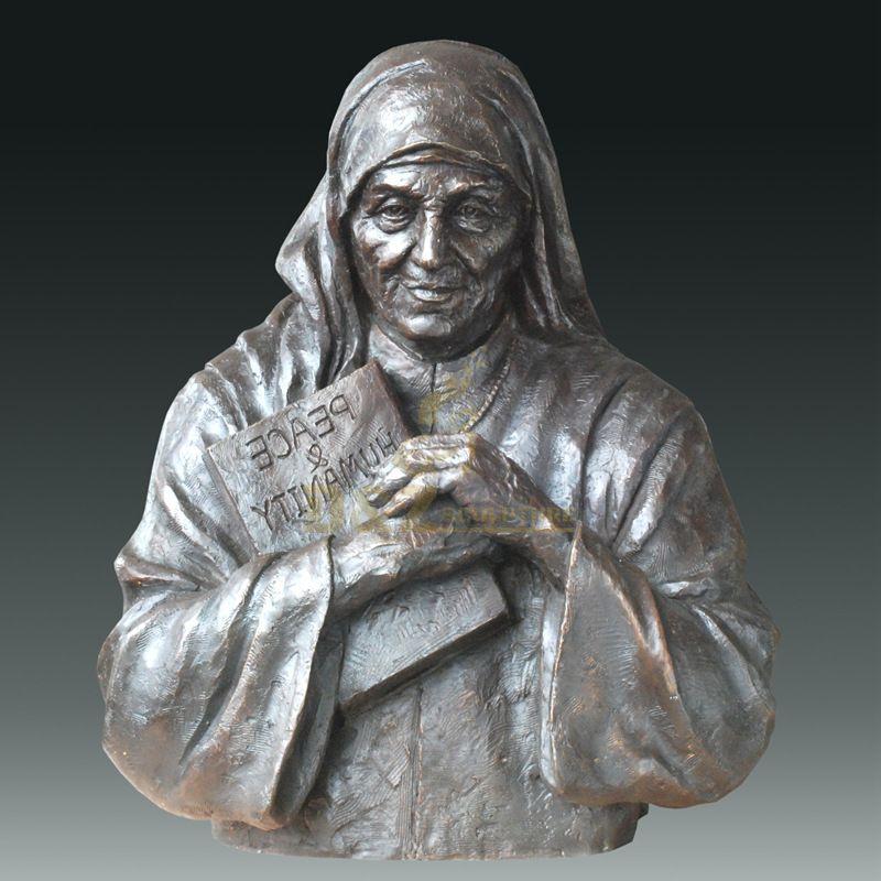High Quality Abstract Bust Bronze Sculpture Modern