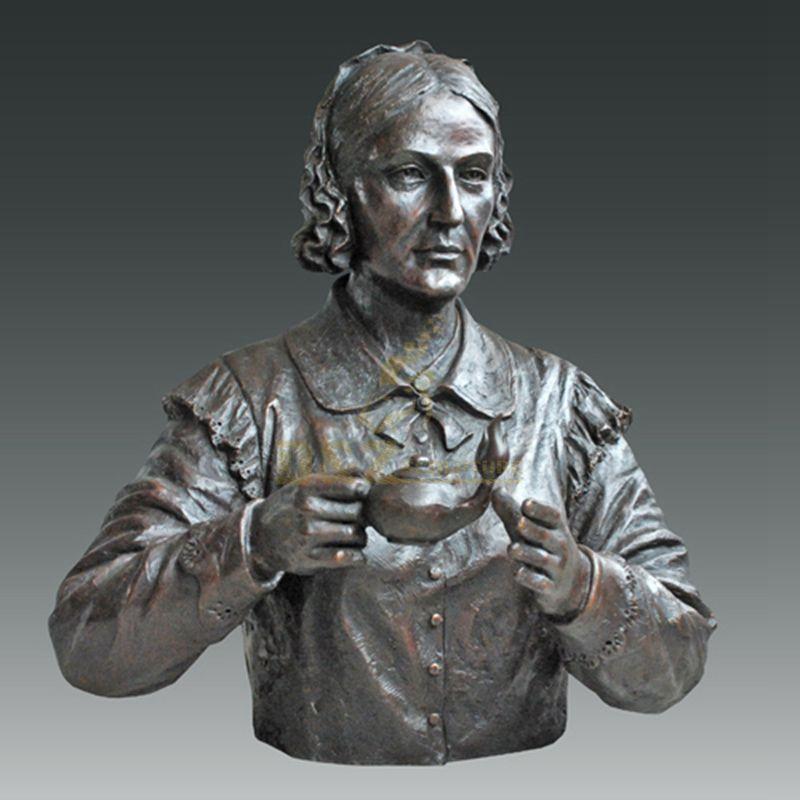 Sexy Woman Sculpture Custom Bust Bronze Statue