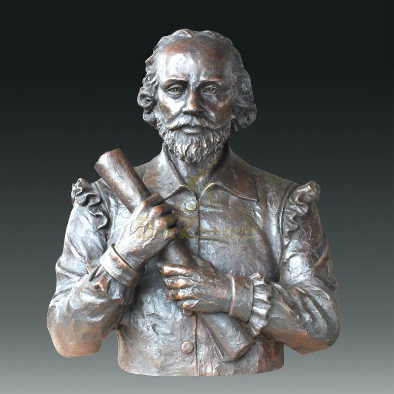 Famous Figure Bronze Bust Figurine Statue