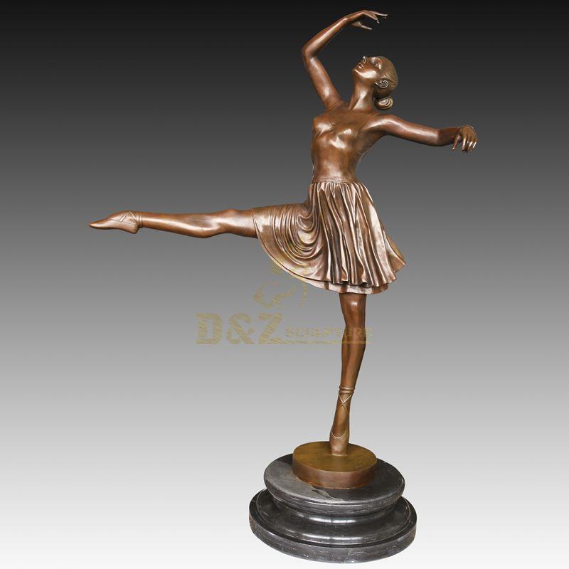 Bronze Nude Dancing Girl Dculpture On Sale