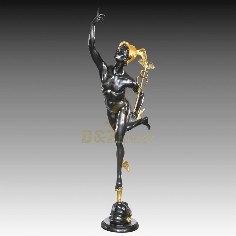 Customizable Large Metal Bronze Man Sculpture For Sale