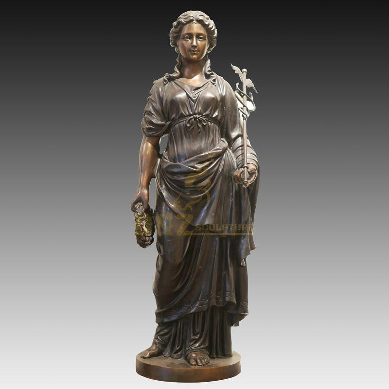 Life Size Outdoor Bronze Girl Sculpture