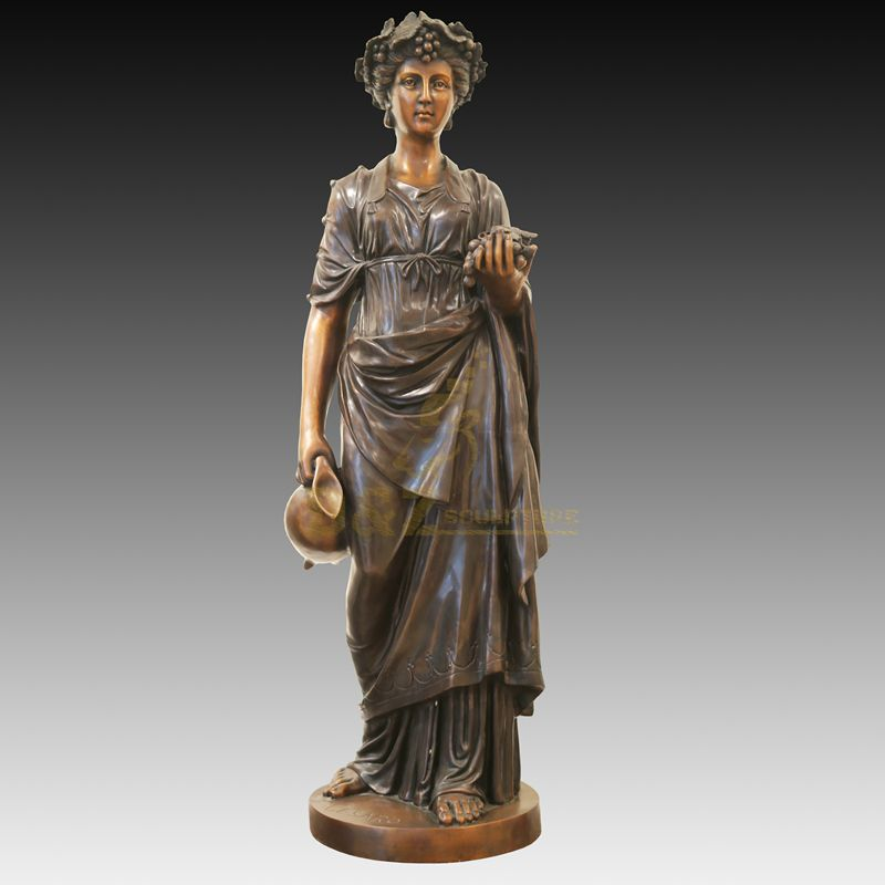 Life Size Bronze Woman Abstract Figure Statue