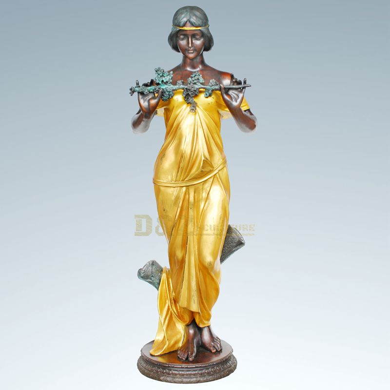 Bronze Craft Woman Statue Sculpture For Sale