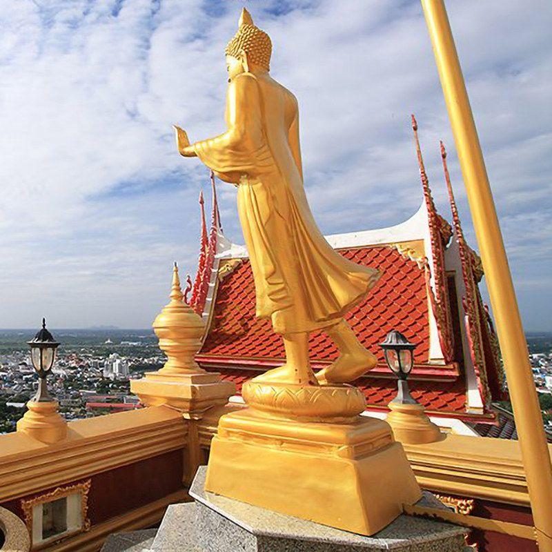 Meditative Buddha of the Grand Temple Garden Statue