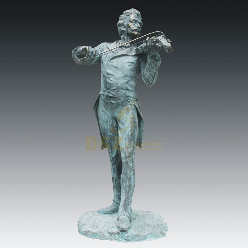 Abstract Famous Metal Art Bronze Musician Sculptures
