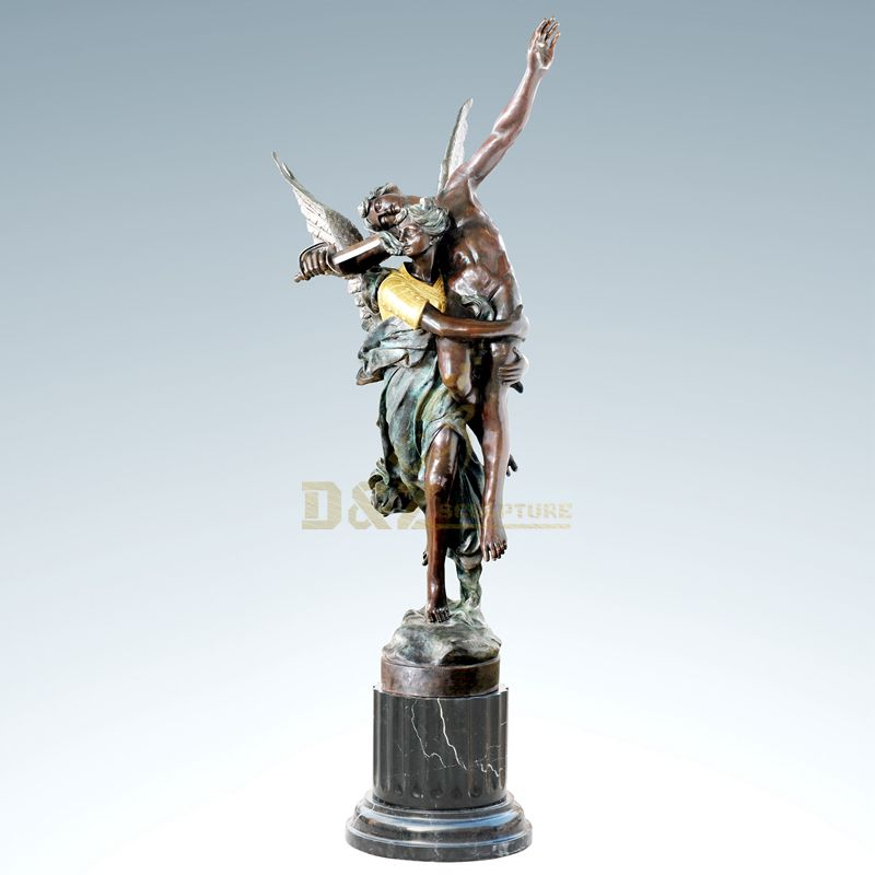 Home decorative bronze god of love sculpture