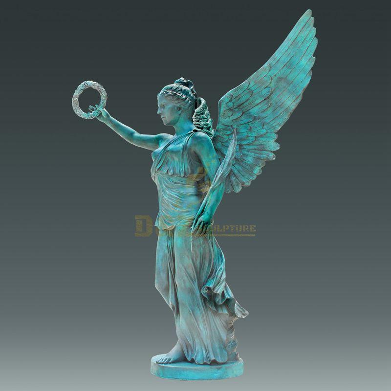 Life Size Angel Bronze Lady Sculpture
