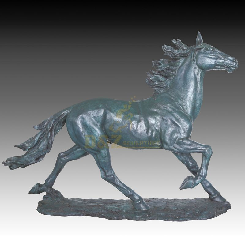 Outdoor garden decoration bronze animal sculpture horse statueOutdoor garden decoration bronze animal sculpture horse statue