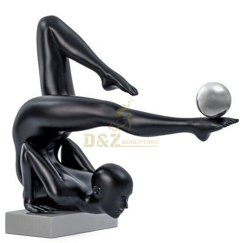 Factory Price Life Size Figure Sculpture Bronze Nude Dancing Girl Sculpture