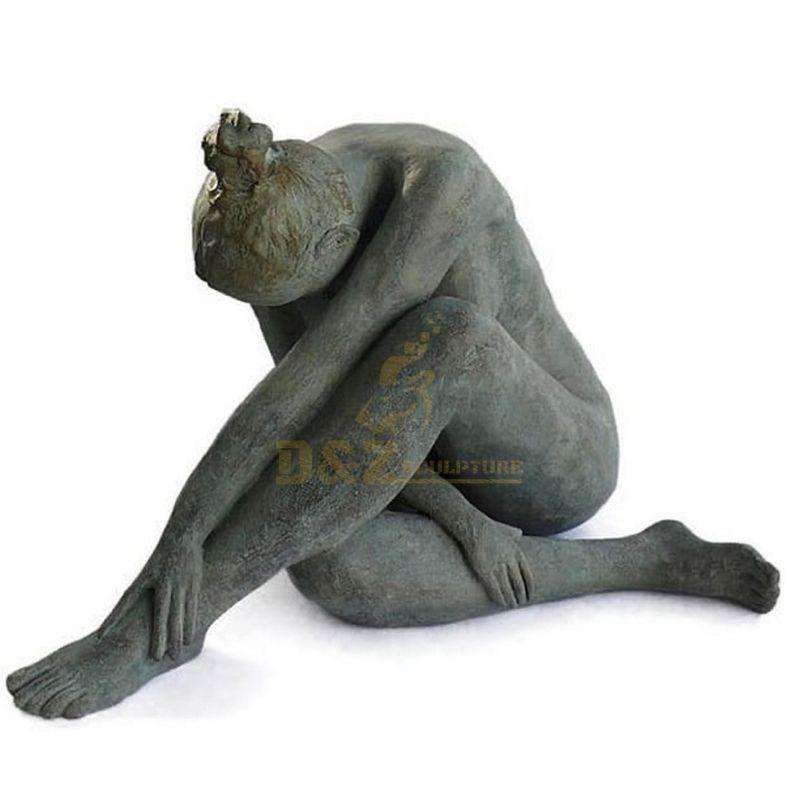 Life Size Bronze Girl Dancer Statue Nude Sculpture