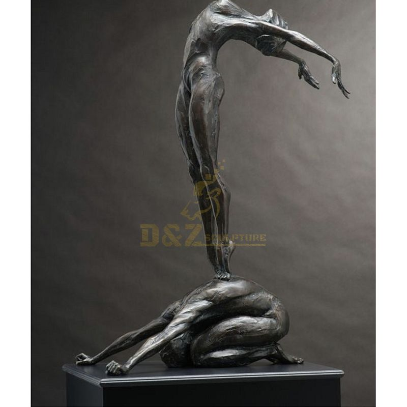 China Supplier Garden Statue Bronze Nude Sculpture Woman Statues