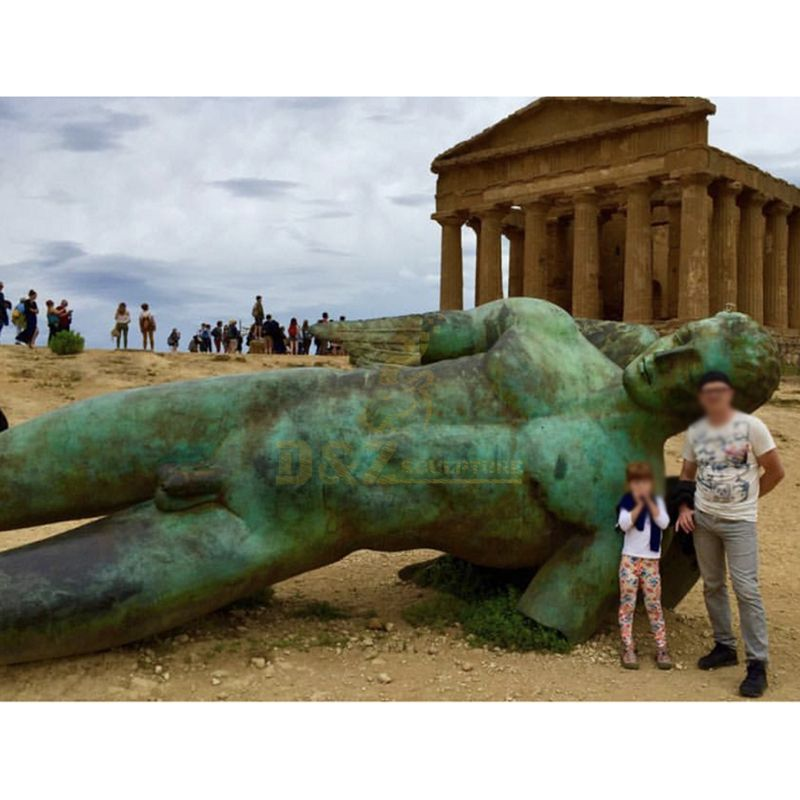 Man Nude Sculptures Bronze Sculpture Nude Handmade Metal Man Sculpture