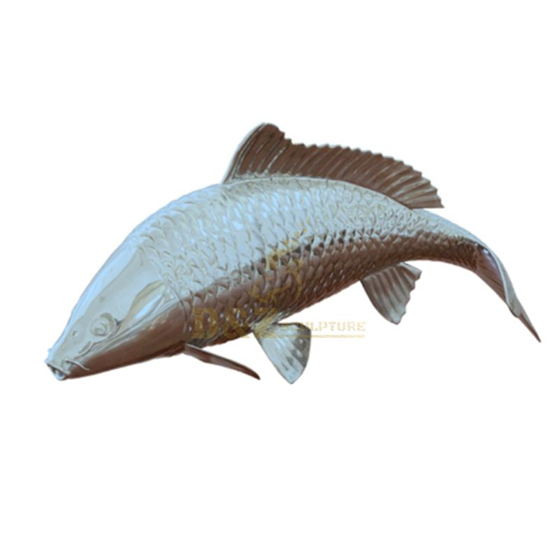 China Supplier Bronze Fish Animal Sculpture