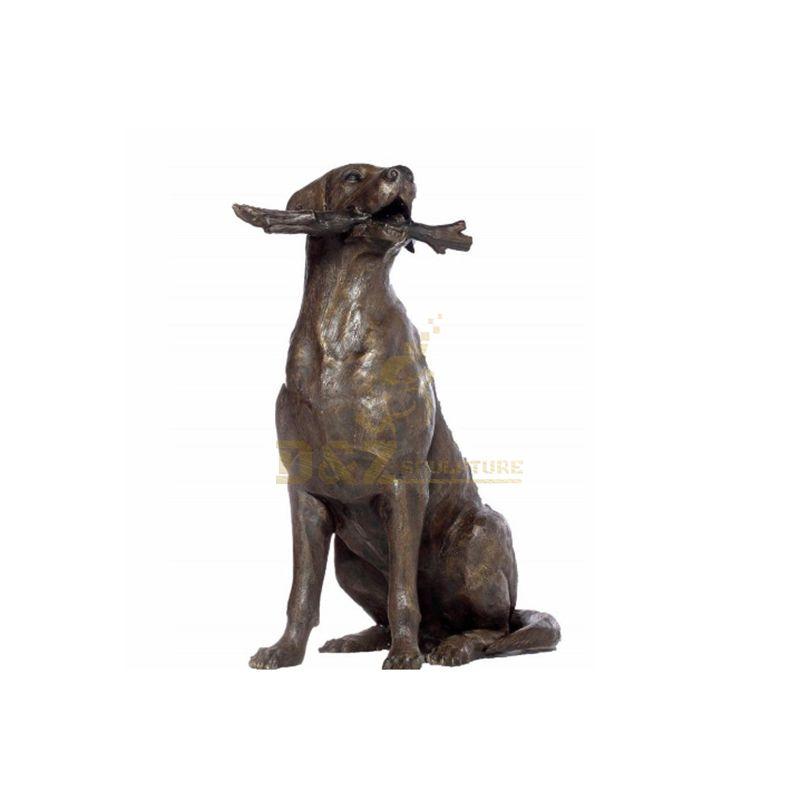 Life Size Bronze Statue Dog Sculpture