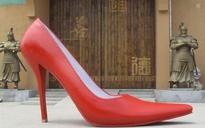 Stainless Steel Polished Garden High sculptural heels