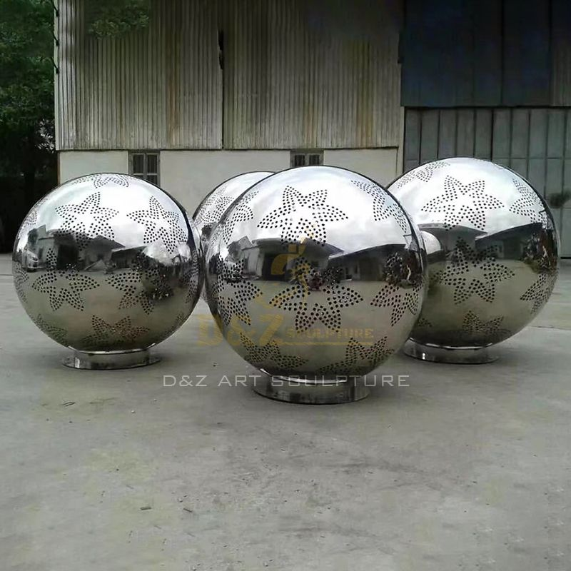 Various Colors High Polished Metal Art Balls For Sale