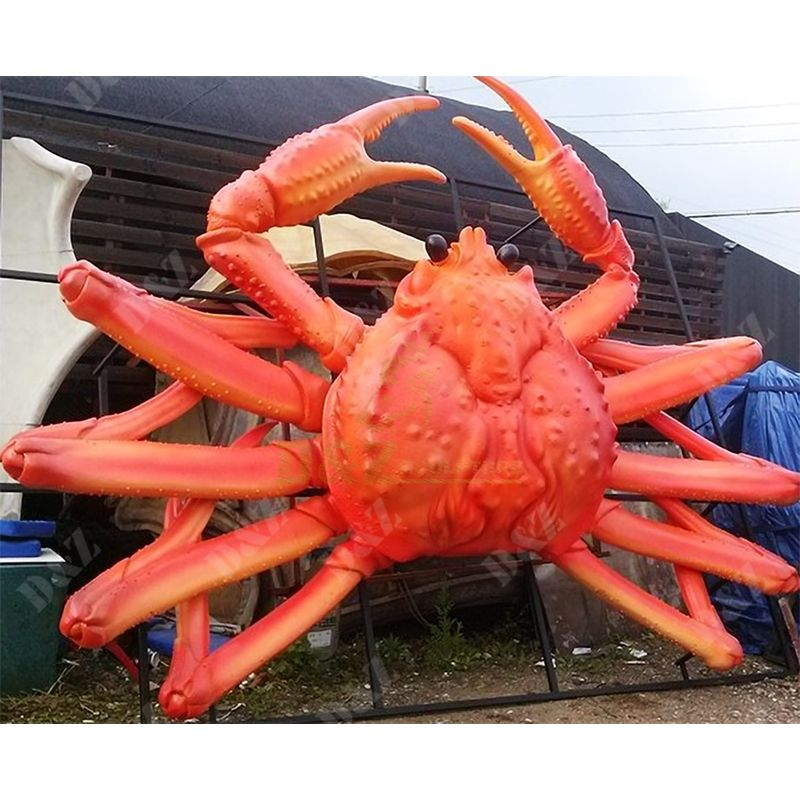 Crab Statue Outdoor Large Sculpture